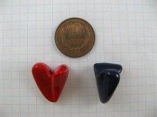 他の写真1: Vintage Plastic Irregular Heart Beads