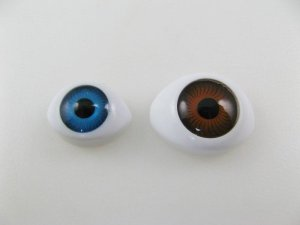 画像1: Vintage Acrylic Eye Cabochon