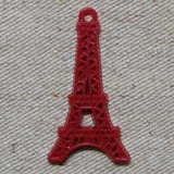 Eiffel Tower Pendant 【RED】