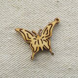 """Wood charm """"Butterfly"""""""