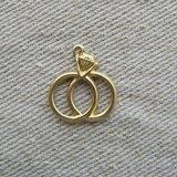 BRASS Wedding ring 2個いり